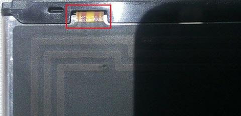 Kiểm tra NFC phía bên trong lớp vỏ của Pin