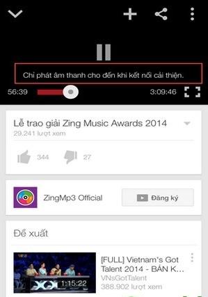 Cách khắc phục lỗi Youtube điện thoại Android