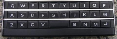 cách dùng bàn phím Qwerty của BlackBerry