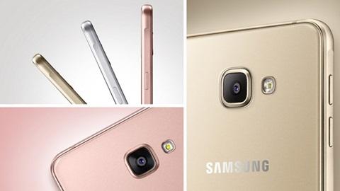 Thiết kế tinh tế trên từng đường nét và khá giống với Galaxy S6 là điểm dễ  nhận thấy trên Galaxy A5 2016