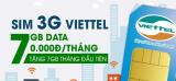 Sim Bigbang Data7 – 7GB data mỗi tháng