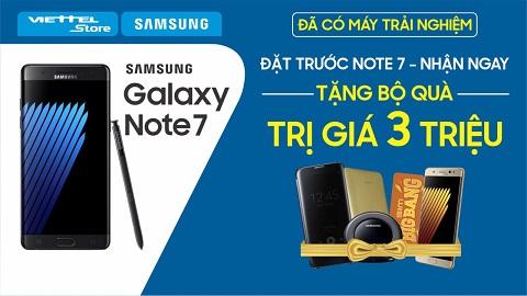 Tech offline Note 7 tại Hải Phòng và Vĩnh Yên