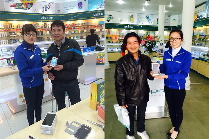 Thêm 3 khách hàng trúng Galaxy Note 4 khi mua Samsung Galaxy tại Viettel Store