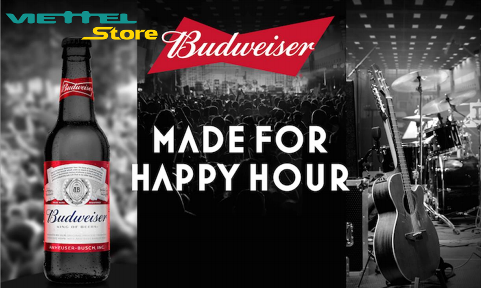 Bùng nổ với tiệc cuối tuần sôi động tại Viettel Store cùng Budweiser