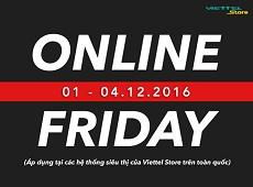 Những bật mí đầu tiên về ngày hội mua sắm Online Friday tại Viettel Store