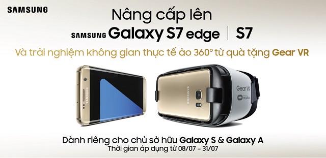 Nâng cấp Galaxy  S7/ S7 edge nhận quà cực đỉnh