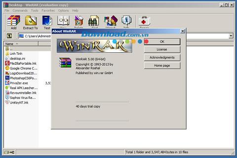 Cách dùng WinRAR để nén file và giải nén file hiệu quả nhất