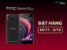 Đặt hàng HTC Desire 10 Pro tại Viettel Store nhận tai nghe Bluetooth cực chất