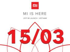 15/03/2017, Xiaomi chính thức