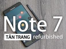 Sẽ không có chuyện Samsung bán Galaxy Note 7 tân trang tại Việt Nam
