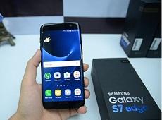 Ngắm trọn mọi góc cạnh của Galaxy S7 Edge ngọc trai đen sắp bán tại Viettel Store