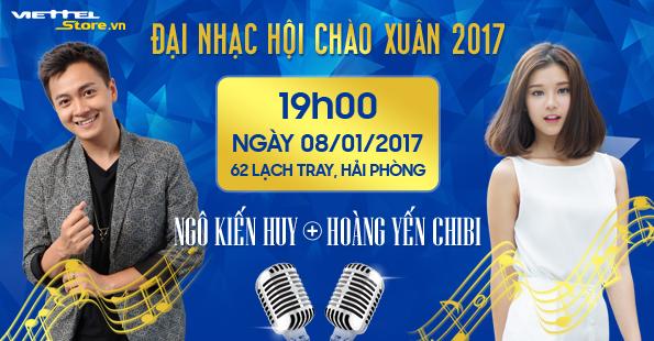 Đại nhạc hội hoành tráng chào xuân 2017