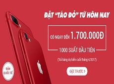 "Viettel Store đón đầu ""cơn bão"" iPhone 7/7 Plus Red"