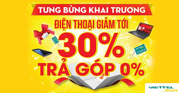 Khai trương Siêu thị Quảng Nam - Giảm giá đến 30%, trả góp 0%