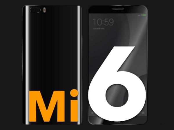 Xiaomi Mi 6 lộ ảnh render siêu sắc nét với mặt lưng cong và camera kép