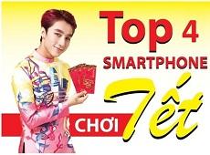 Top 4 smartphone cao cấp xứng đáng để bạn chọn mua dịp Tết Nguyên Đán