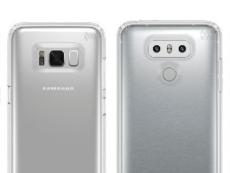 Galaxy S8 và LG G6 – hai mẫu smartphone cao cấp 2017 lộ ảnh đặt ngay cạnh nhau