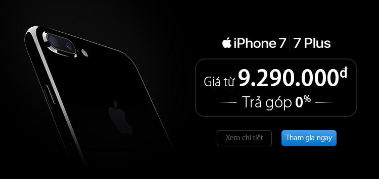 Tri ân khách hàng Viettel - iPhone 7 giá chỉ từ 9.290.000đ