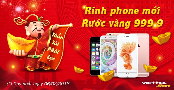 Rinh Phone mới rước vàng 999.9