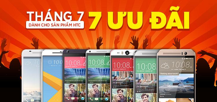 Chúc mừng 7 khách hàng trúng smartphone cao cấp HTC 10