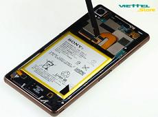 Hướng dẫn bạn đọc thay pin Sony Xperia Z3 tại nhà đơn giản nhất