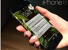 Xiêu lòng với bản thiết kế iPhone 8 cong không viền, camera cực chất