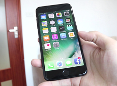 Trải nghiệm và đánh giá nhanh iPhone 7 Plus JetBlack 128GB