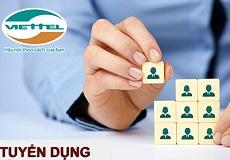 Tuyển dụng nhân viên Ban Kinh doanh Dịch vụ mới - Công ty TM & XNK VIETTEL