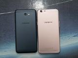 """So sánh """"kẻ hủy diệt"""" Galaxy J7 Prime và """"thánh selfie"""" Oppo F1s"""