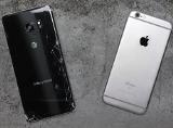 Trải qua bài thử nghiệm thả rơi Galaxy Note 7 và iPhone 6s.