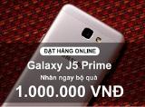 Đặt trước J5 Prime, nhận ngay quà khủng 1 triệu từ Viettel Store