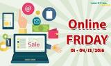 Máy tính bảng, lap top, phụ kiện giảm 49% ngày Online Friday tại Viettel Store