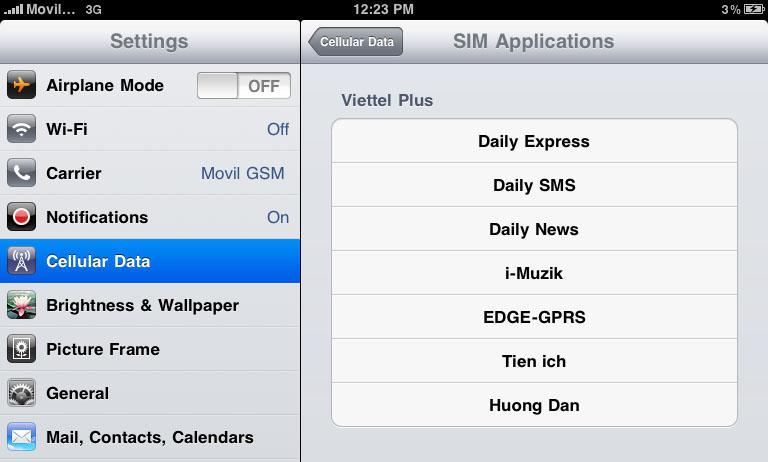 Cách nạp tiền từ thẻ cào trên iPad (1)