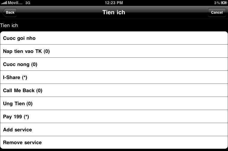 Cách nạp tiền từ thẻ cào trên iPad (2)